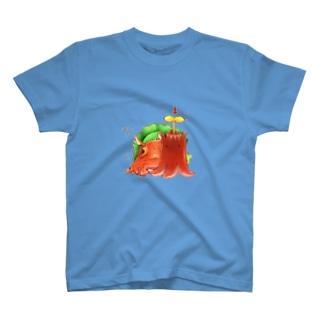たこさんウィンナー T-shirts