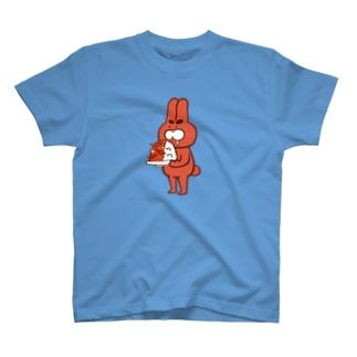 辛口ウサギTシャツ T-shirts