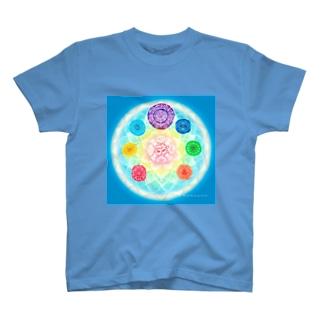 チャクラマンダラ T-shirts