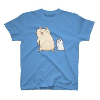 モルとハムの体操 T-shirts