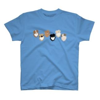 チベ並べ T-shirts