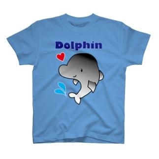 イルカ #Dolphin #水族館 T-shirts