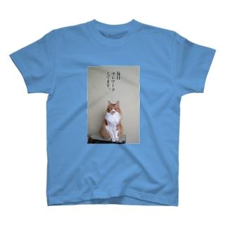 毎日テレワークしてます。 T-shirts
