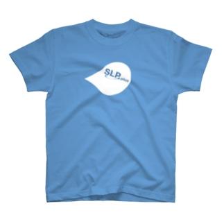 SLP PLUSグッズのTシャツ ルブリ/白 T-shirts