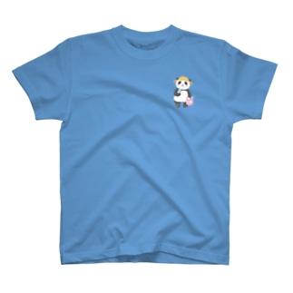 ワンポイントパンダさん T-shirts