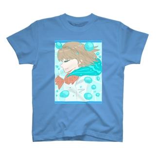 エヌkun:真夏の水中 T-shirts