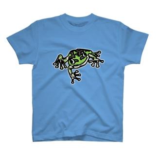 東京ダルマガエル T-shirts