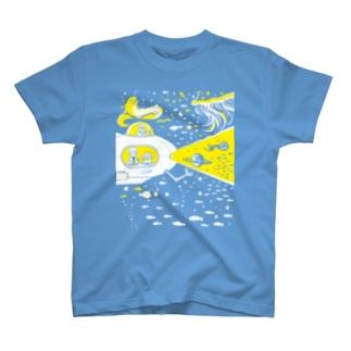 宇宙潜水艇 Lagopus muta Tシャツ