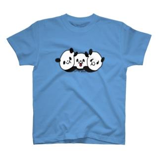 パンダちゃんFamily T-shirts