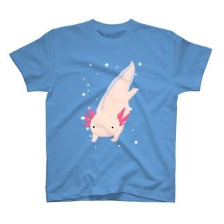 パステルカラー およぐウパさん2 T-shirts