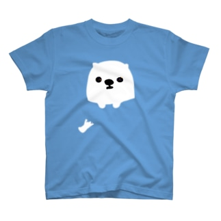 犬ポッケ穴あき T-shirts