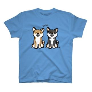 ちゃ柴とくろ柴 T-Shirt