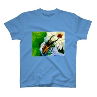クワガタ ☆ファブリース2☆ T-Shirt
