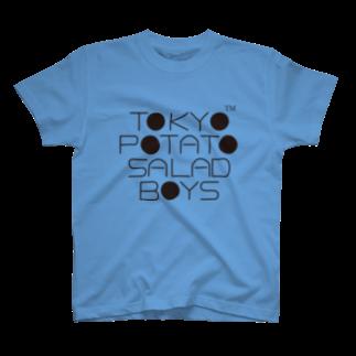 東京ポテトサラダボーイズ公式ショップの東京ポテトサラダボーイズ公式ネオクラシックロゴ Tシャツ