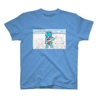 HIAGTAと超魚 2 T-shirts