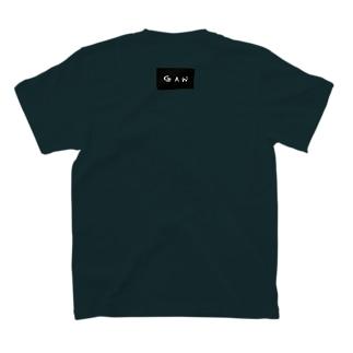 めさんかく 両面プリントTシャツ T-shirts