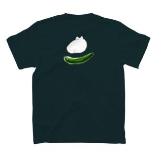 戦慄のキュウリ T-shirts