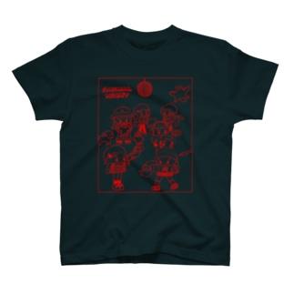 ANIMAL NIGHT T-shirts