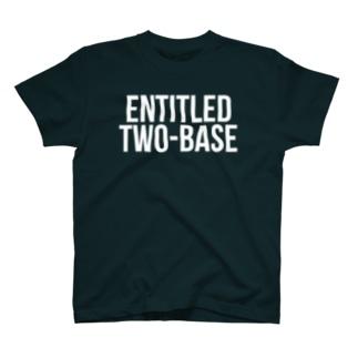 和製英語エンタイトルツーベースTシャツ T-shirts