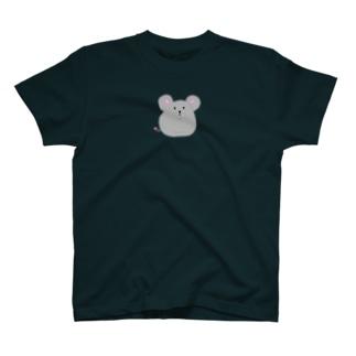 え?ぼく食べてない!食いしん坊なネズミ T-shirts