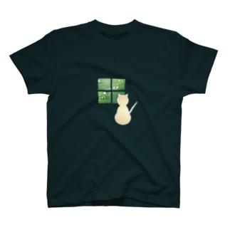 ねこもりへ(きらきら) T-Shirt