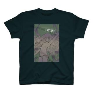 [粘質物・思考停止の天使] T-shirts