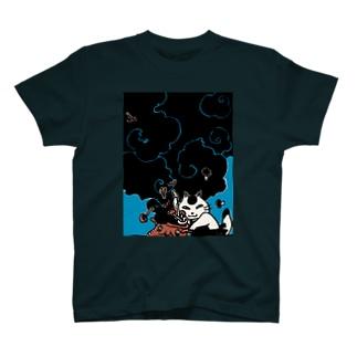 黒料理なまら猫 T-shirts