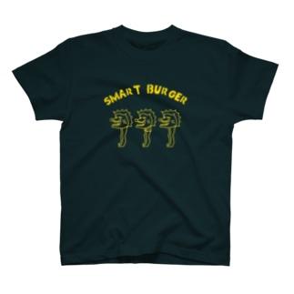 murakami_naranのスマートバーガー T-shirts