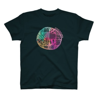 カラフルお手玉 T-shirts
