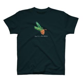 神は細部に宿る 刺繍Tシャツ T-shirts