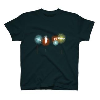 人間花火Tシャツ T-shirts