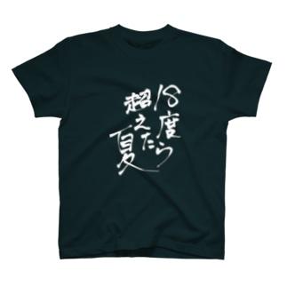 溶ける道民T(黒地向け T-shirts