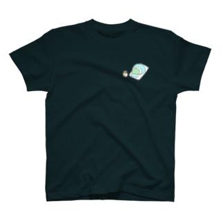 723nanani-sanのシンプルなカエルたち(お布団) T-shirts