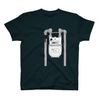 ガスメーター T-shirts