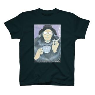 深煎り珈琲 T-shirts