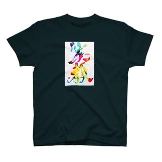 笑顔で過ごそう T-shirts