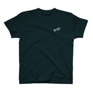 SURUME RECORDS 両面wh T-shirts