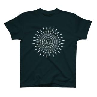 アジアンチックなカモノハシ(白) T-shirts