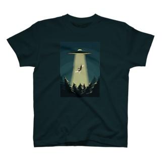 UFOと猫 T-Shirt