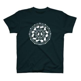 兎星座盤 T-shirts