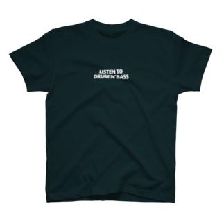 ドラムンベース T-shirts