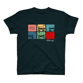 エスロクロクマル・BLACK S660 T-shirts