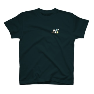 鳥のなる木 胸 T-shirts