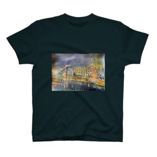 CITY-Tokyo Tower- T-shirts
