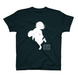 朱音ちゃんシルエットTシャツ T-shirts