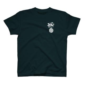 ボールコロコロ(小)(線画:白バージョン) T-shirts