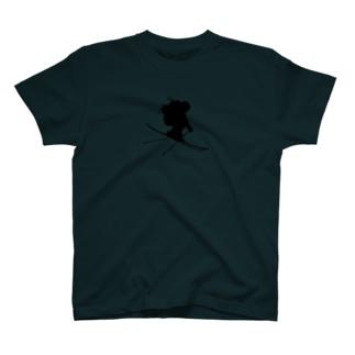 REAL SKIER T-shirts