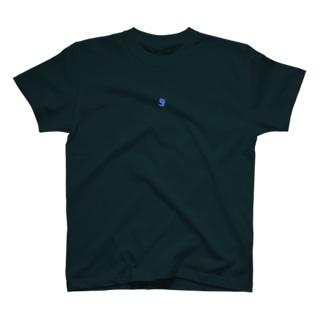 SFロゴTシャツブループリント T-shirts