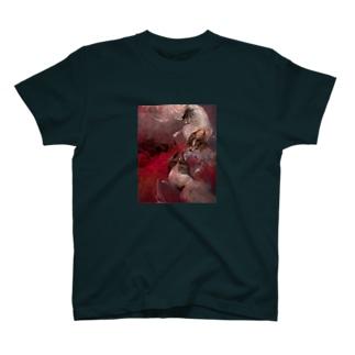 日本画 犬 T-shirts