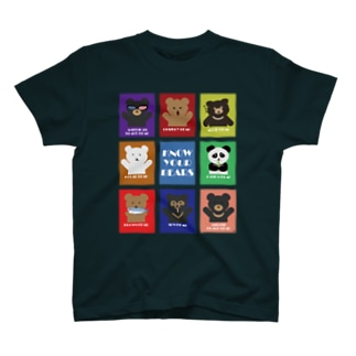 KNOW YOUR BEARS T-shirts